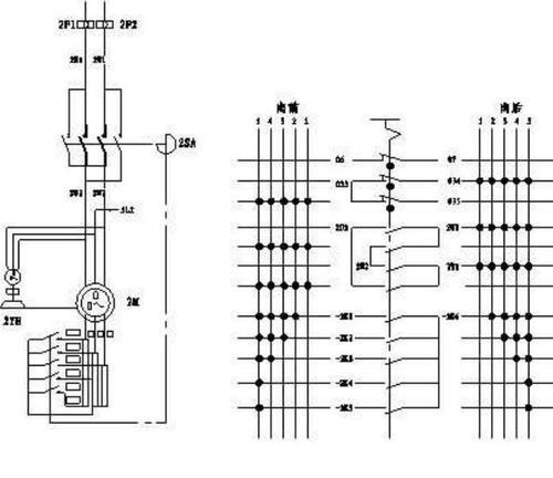 绕线式异步电动机接线图