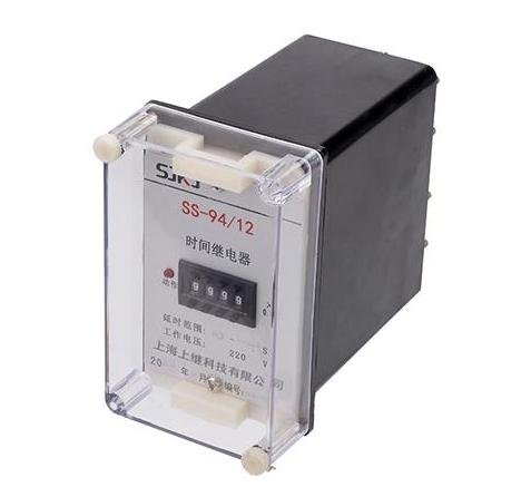 时间继电器规格及型号: