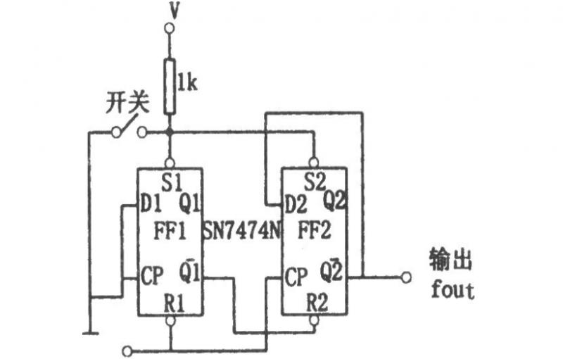 3.数字分频器电路图