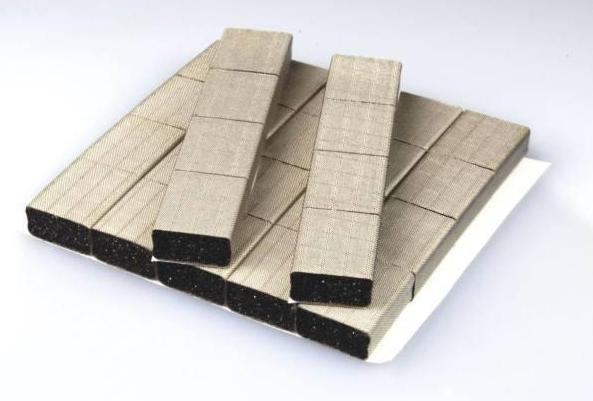2.导电泡棉的材料