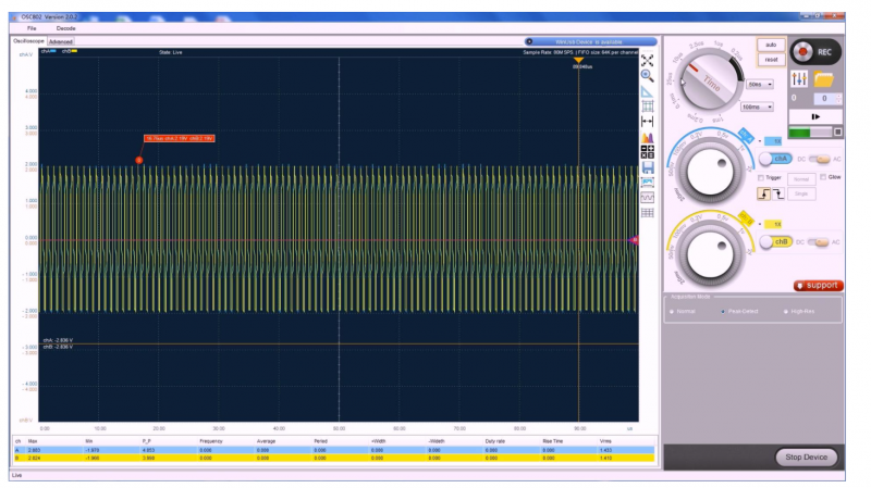 2.虚拟示波器的原理