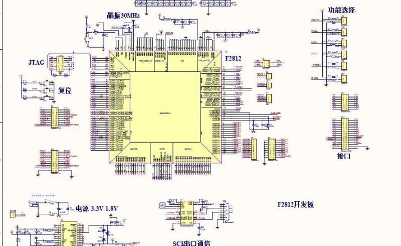 dsp2812最小系统原理图