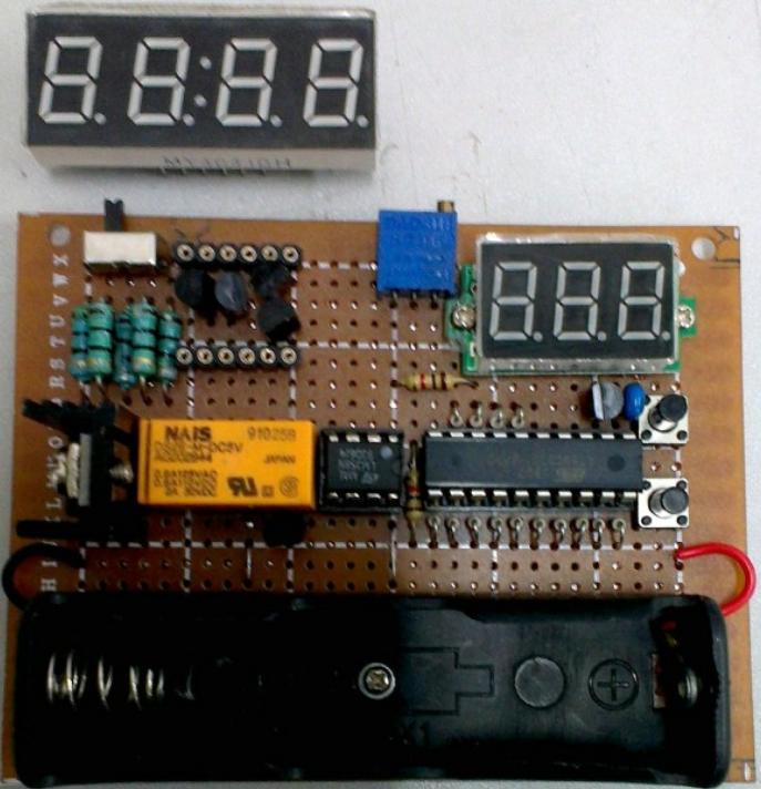 电池容量测试仪制作