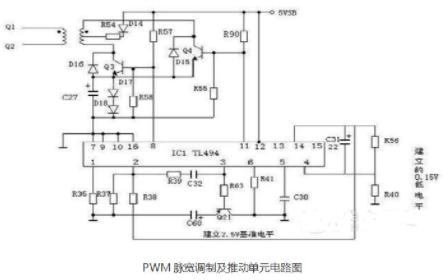 atx电源电路图及解析