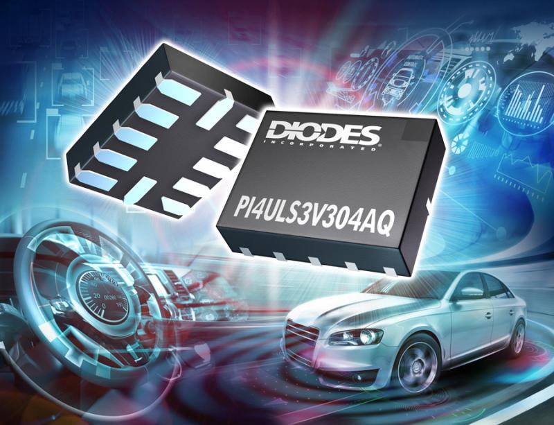<font color='red'>Diodes</font> 公司推出用于汽车产品应用的高速双向双电源自动感应电位转换器 IC