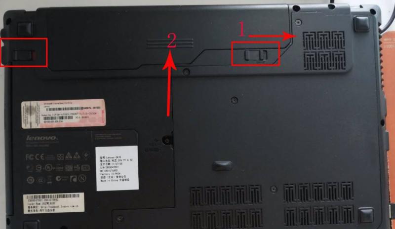 笔记本电脑电池怎么拆图解