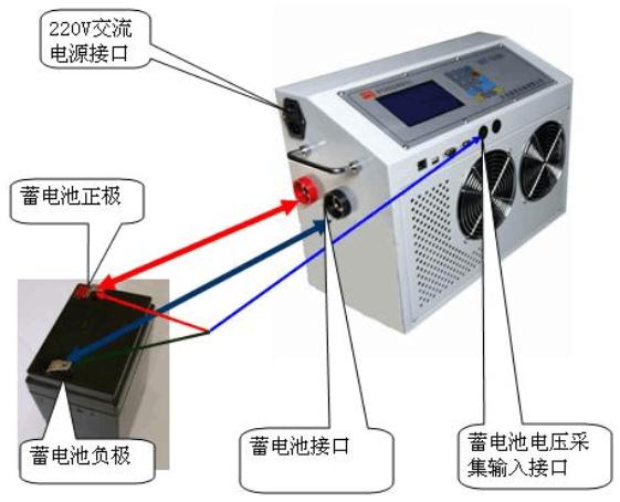 蓄电池充放电机使用说明