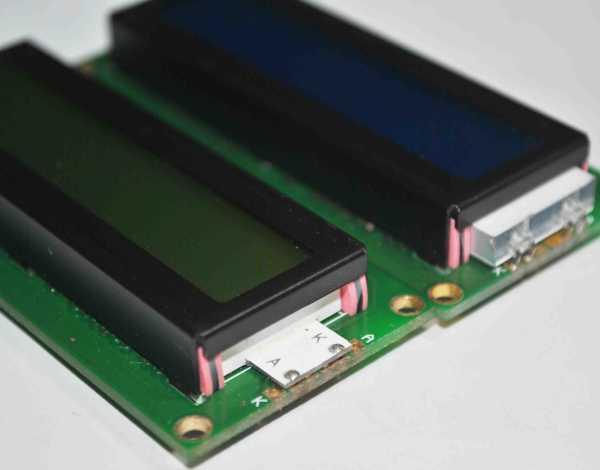 LCD模块的存储