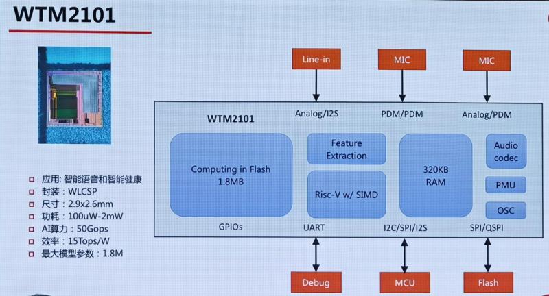 WTM2101的芯片架构