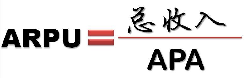 ARPU和ARPU的区别