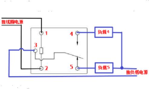 220v继电器的接法