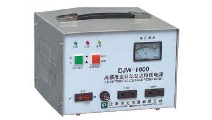 交流稳压电源的使用方法