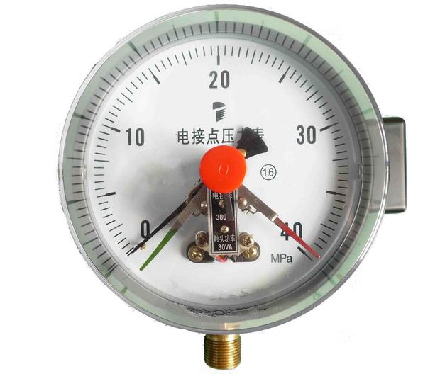 电接点压力表怎么使用