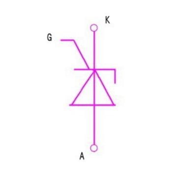 晶闸管符号