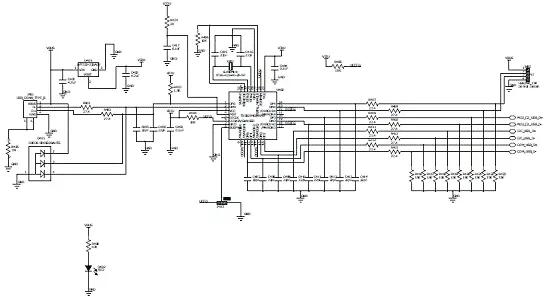 USB集线器的原理图