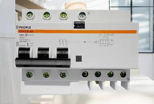 漏电开关怎么接线