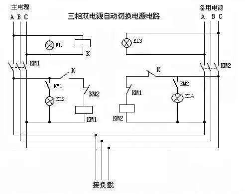 双回路供电电路图