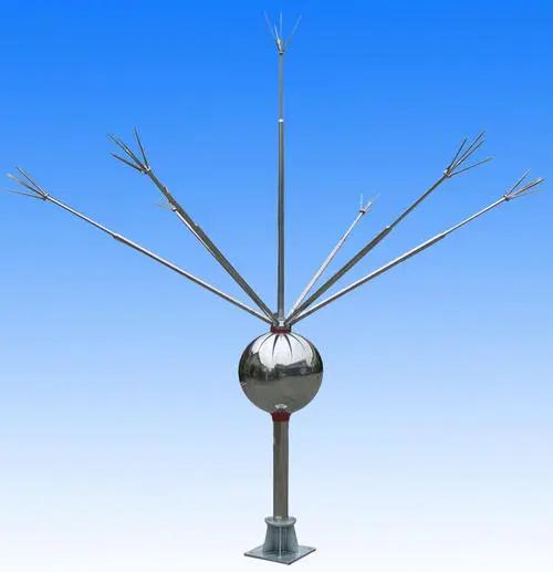 避雷针保护范围计算公式