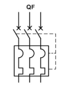 低压断路器符号
