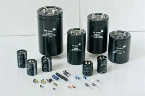 铝电解电容器的构成