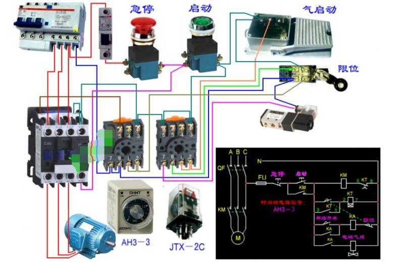 单相电机怎么测好坏和线路图