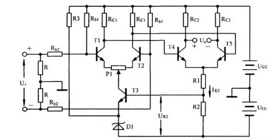 差分放大电路计算公式