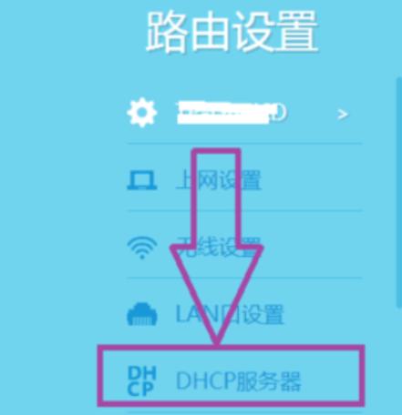 找到DHCP服务器
