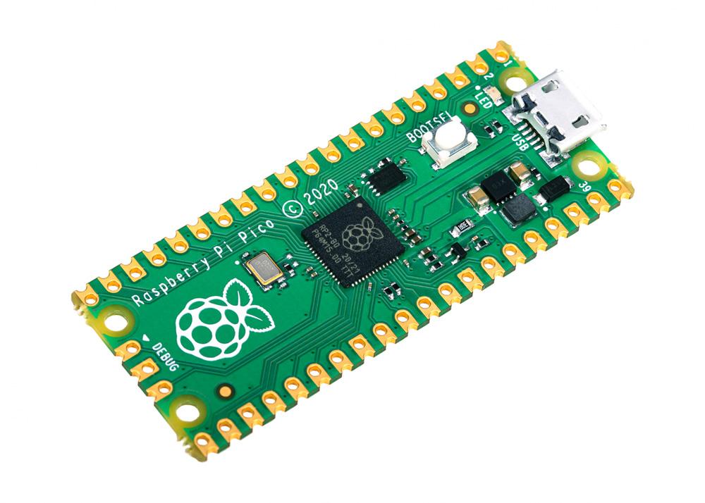 基于微控制器RP2040的树莓派 Pico发布:MCU的新曙光