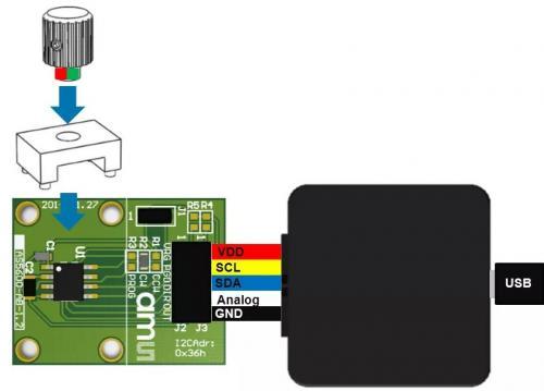 艾迈斯AS5600位置传感器4