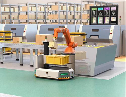 ams3d传感器机器人