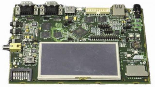 评估板AT91SAM9G45-EKES外形图