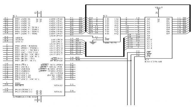 图4 事件记录存储电路