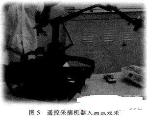 ga32的遥控采摘机器人设计