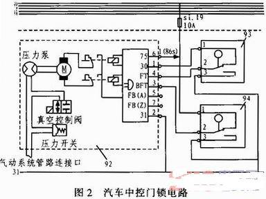 汽车门锁控制电路分析与设计-汽车电子-恩智浦技术社区