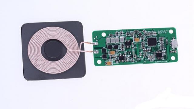无线充电移动电源的制作1