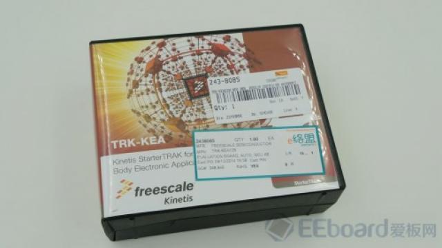 TRK-KEA128开发板的庐山真面目1