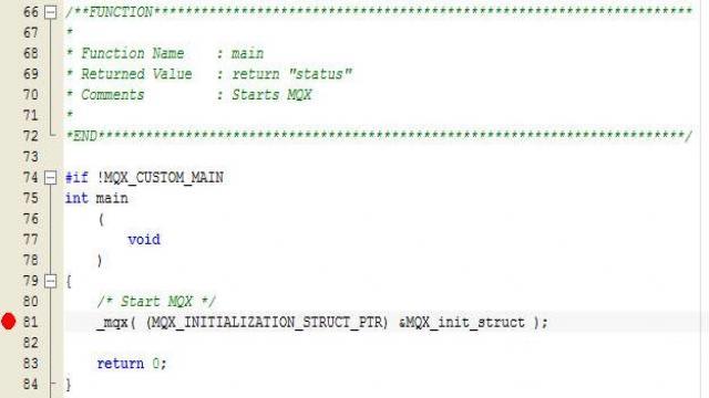 学习MQX实时操作系统(4)