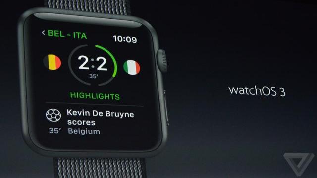 watchOS升级至3.0版本 响应速度更快