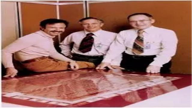 创办半导体巨擘英特尔的三巨头Bob Noyce、Gordon Moore和Andy Grove。