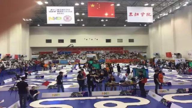"""第十二届全国大学""""恩智浦杯""""智能汽车竞赛04"""
