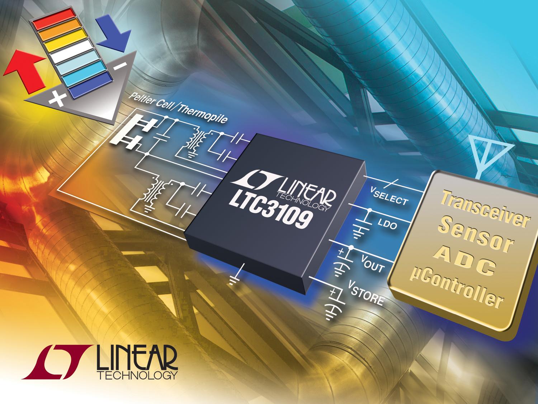 自动极性、超低电压升压型转换器和电源管理器
