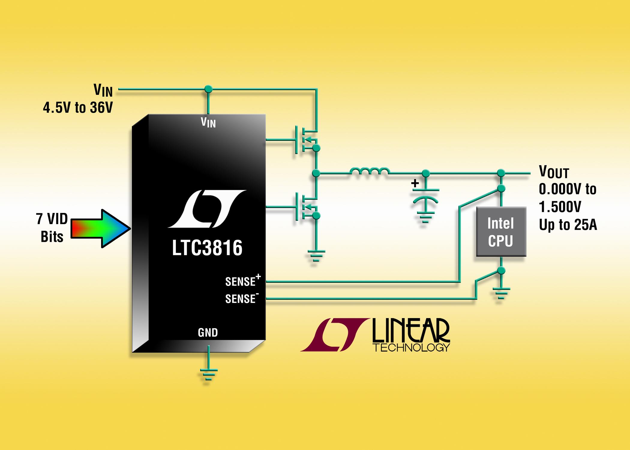 照片说明: 单相 IMVP-6/6.5 DC/DC 控制