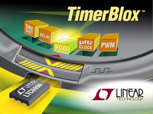 照片说明: TimerBlox™ 系列:简单、准确和小巧的定时解决方案