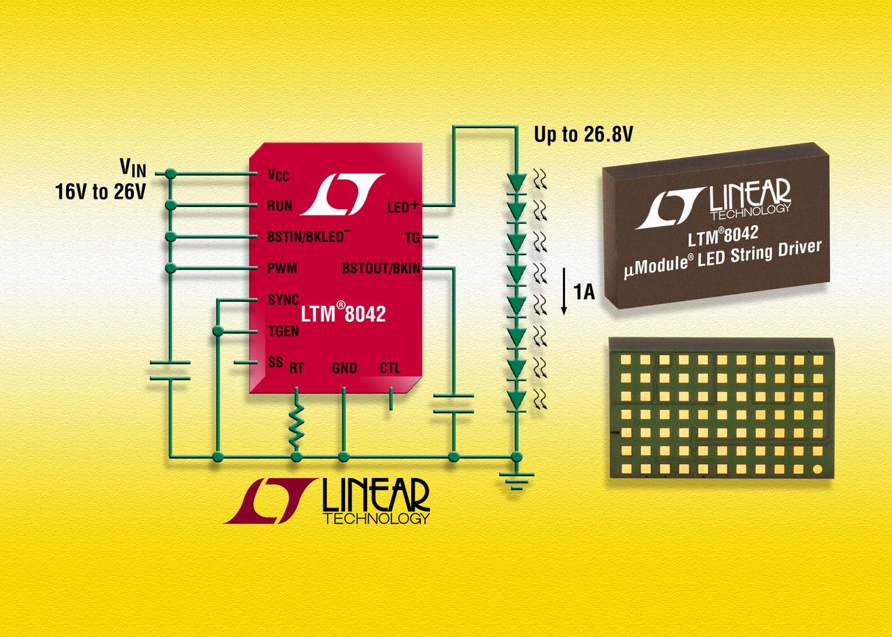 照片说明: 微型模块 LED 驱动器