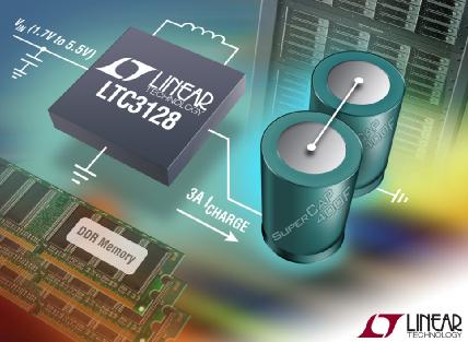 照片说明:具 2% 准确输入电流限制的 3A 降压-升压型超级电容器充电器
