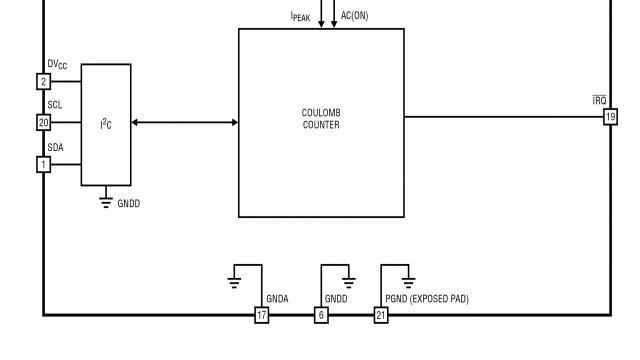 """图 6:LTC3335""""零""""电流库伦计数器依靠 DC/DC 架构"""