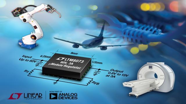 60V、3A Silent Switcher µModule 稳压器