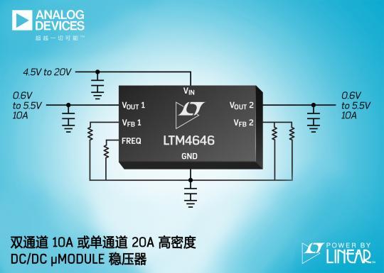 ADI产品 (LTM4646) 新闻稿-图
