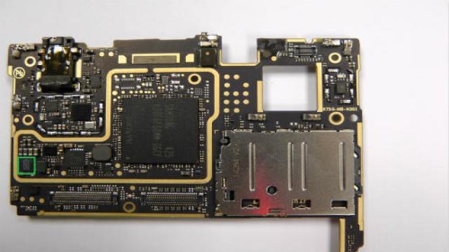 图14:联想k920的主板反面