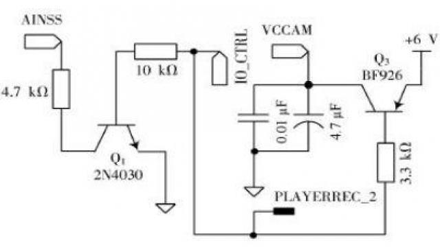 图4语音录放控制电路